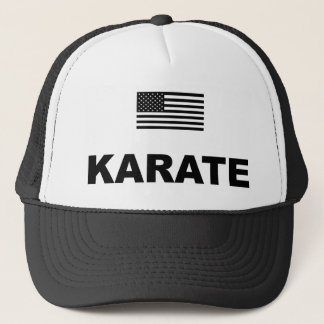 Karate USA-Hut Truckerkappe