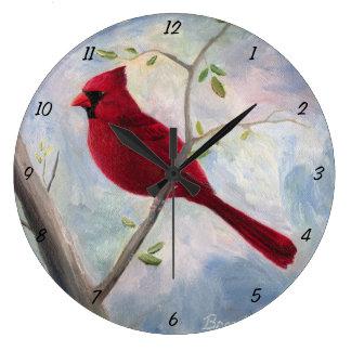 Kardinal Große Wanduhr