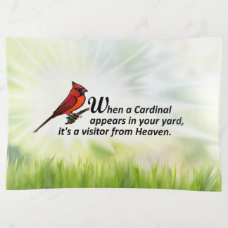 Kardinal in Ihrem Yard Dekoschale