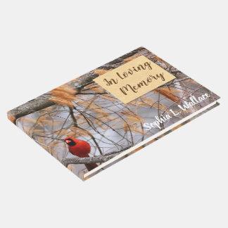 Kardinal in liebevollem Gedächtnis Gästebuch