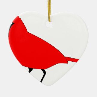 Kardinal Keramik Ornament