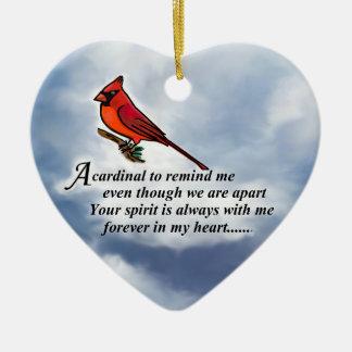Kardinals-Denkmal-Gedicht Keramik Ornament