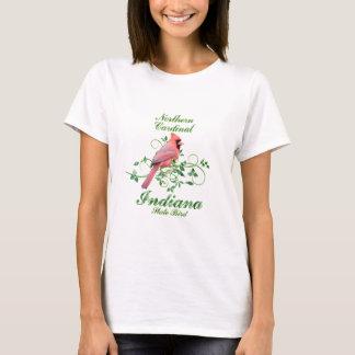 Kardinals-Indiana-Staats-Vogel T-Shirt