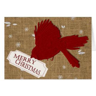 Kardinals-Weihnachtskarte Karte
