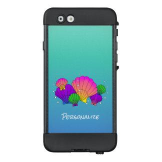 Karibische Muscheln mit Blasen LifeProof NÜÜD iPhone 6 Hülle
