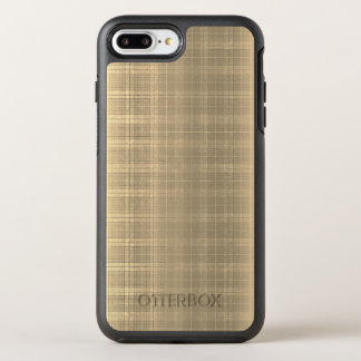 Karierte Art 90s Grunge-BrownTartan OtterBox Symmetry iPhone 7 Plus Hülle