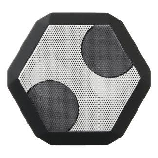 Karierte dunkelgraue Punkte Schwarze Bluetooth Lautsprecher