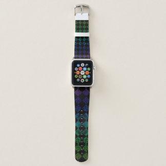 Karierte Wässerung durch Kenneth Yoncich Apple Watch Armband