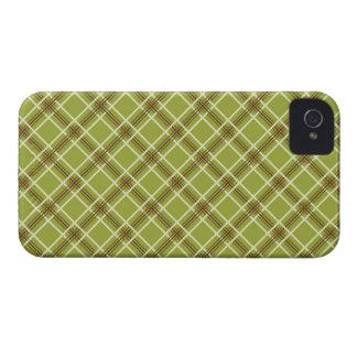Kariertes BlackBerry-mutige Case-Mate-Abdeckungen iPhone 4 Case-Mate Hülle