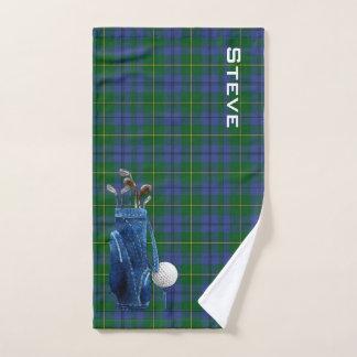 Kariertes Golf-Tuch Johnstons Handtuch
