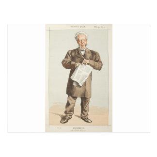 Karikatur der Staatsmann-No.940 des Stadtrates Postkarte