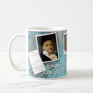 Karl F. Gauss Mug für Mathe-Liebhaber Kaffeetasse