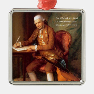Karl Friedrich Abel Silbernes Ornament