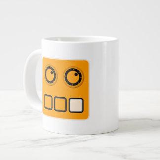 KARL-Logoespresso-Tasse Jumbo-Tasse