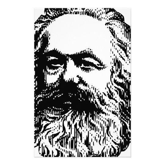 Karl Marx - Kommunismus Briefpapier