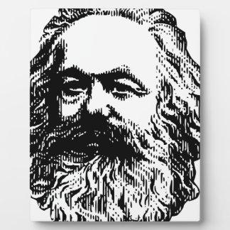 Karl Marx - Kommunismus Fotoplatte