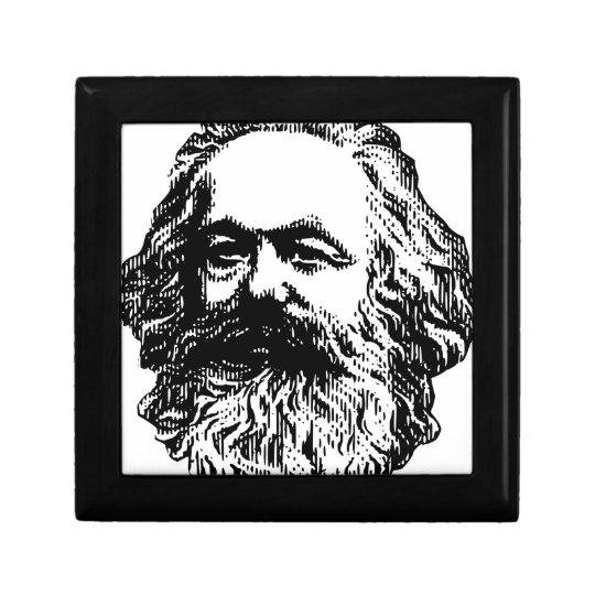 Karl Marx - Kommunismus Kleine Quadratische Schatulle