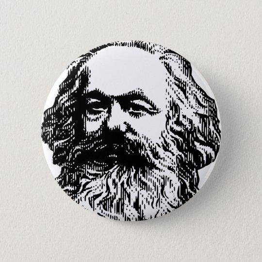 Karl Marx - Kommunismus Runder Button 5,7 Cm