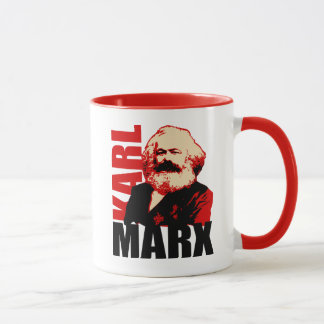 Karl- Marxporträt, sozialistisch Tasse