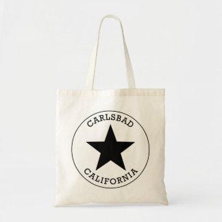 Karlsbad Kalifornien Budget Stoffbeutel