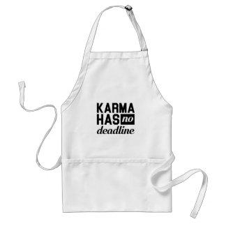 Karma-Frist Schürze