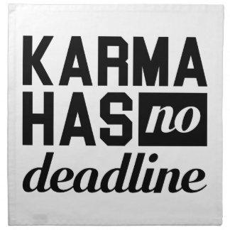 Karma-Frist Serviette