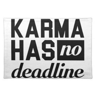 Karma-Frist Tischset