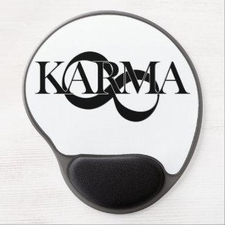 Karma mit dem Unendlichkeitssymbol - so cool! Gel Mouse Pad