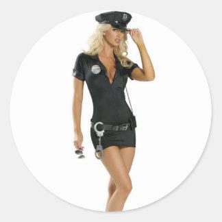 Karma-Polizei Runder Aufkleber