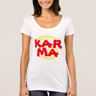 Karma-T - Shirtentwurfs-Geschenkidee T-Shirt