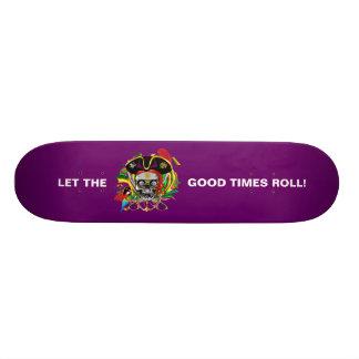 Karneval 18,1 Cm Old School Skateboard Deck