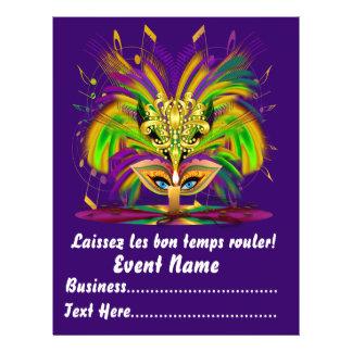 """Karneval Carvinal 8,5"""" x 11"""" sieht bitte Anmerkung Personalisierte Flyer"""