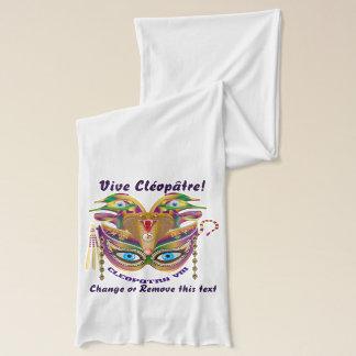 Karneval Kleopatra-VIII gelesen über Entwurf unten Schal