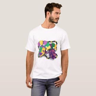 Karneval-Komödien-Tragödie-Masken T-Shirt