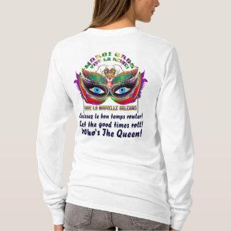 Karneval-Königin 5 gelesen über Entwurf unten T-Shirt
