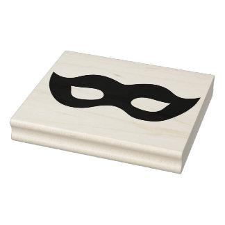 Karneval-Masken-Silhouette-Gummikunst-Briefmarke Gummistempel