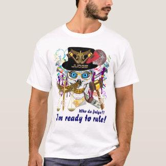 Karneval-Richter-Männer nur alles Art-Licht T-Shirt