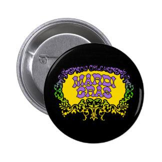 Karneval Runder Button 5,1 Cm