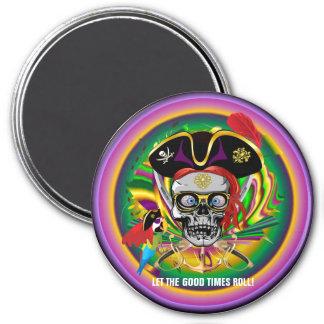 Karneval Runder Magnet 7,6 Cm