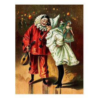 Karneval: Vertraute Postkarte