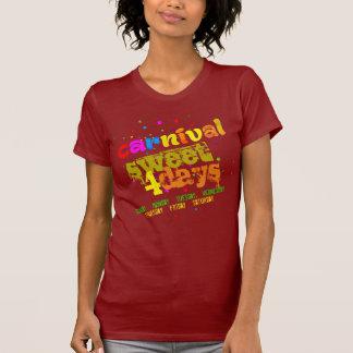 Karnevals-Bonbon 4 Tage (editable) T-Shirt