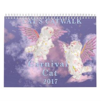 Karnevals-Katze 2017 Kalender
