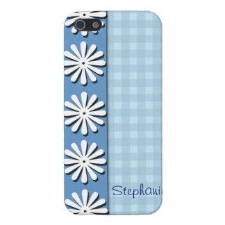 Karos und Blume-Personifizieren Namen iPhone 5 Cover