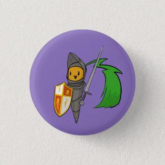 Karotten-Ritter Runder Button 3,2 Cm