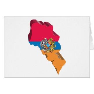 Karte 3D von Armenien