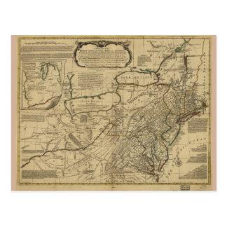 Karte der britischen Kolonien in Amerika (1771)