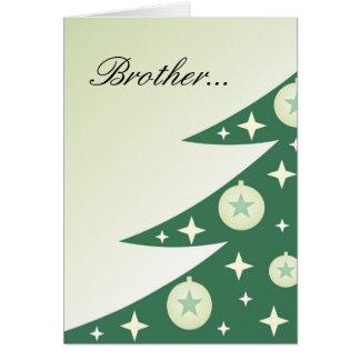 Karte der Diva Weihnachtsfür Bruder