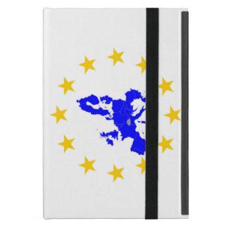 Karte der Europäischen Union mit Sternenkreis Hülle Fürs iPad Mini
