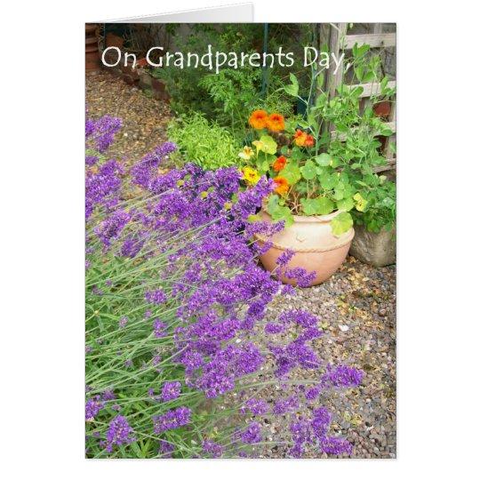 Karte der Großeltern Tages