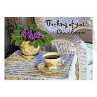 Karte der Mutter Tagesfür Grandmom